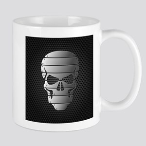 Chrome Skull Mugs