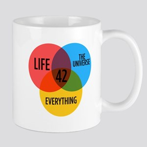 42 The Answer To Everything For Book Lover 11 oz C
