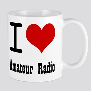 I Love Amateur Radio Mug