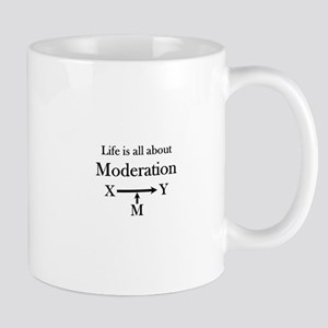 Life is all about Moderation Mug
