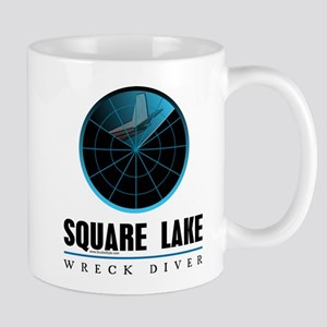 Square Lake Wreck Diver Mug