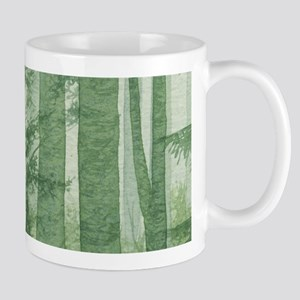 Green Misty Forest Mug