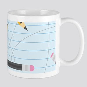 Back to School Pencils Mugs