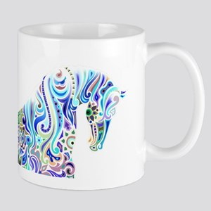 Cool Colorful Horse Mugs