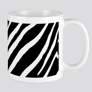 Zebra Striped Pattern Mugs