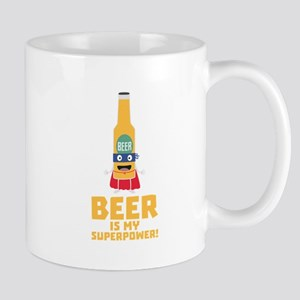 Beer is my superpower Cync7 Mugs