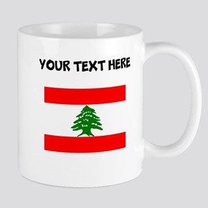 Custom Lebanon Flag Mugs