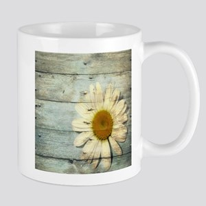 shabby chic country daisy 11 oz Ceramic Mug