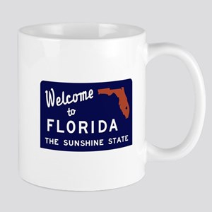 Welcome to Florida Vintage 70s - USA Mug