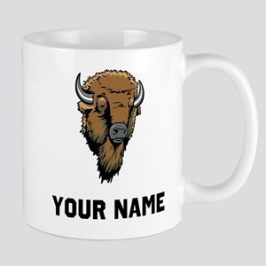 Buffalo Head Mugs