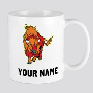 Fire Bison Mugs