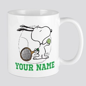 Snoopy Tennis - Personalized Mug