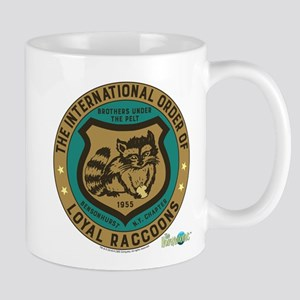 The Honeymooners: Loyal Raccoons Mug