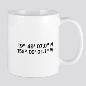 Latitude Longitude Personalized Custom Mugs