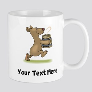 Bear With Soup (Custom) Mugs
