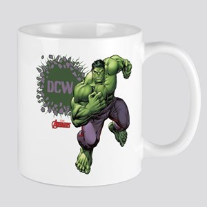 Hulk Monogram Personalized Mug