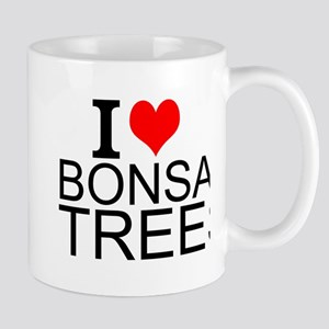 I Love Bonsai Trees Mugs