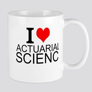 I Love Actuarial Science Mugs