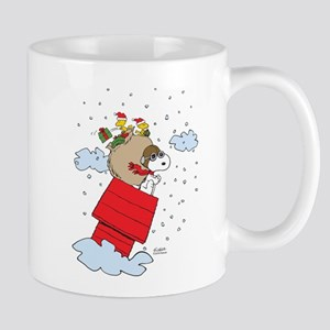 Flying Ace Santa Mug