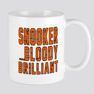 Snooker Bloody Brilliant Designs Mug