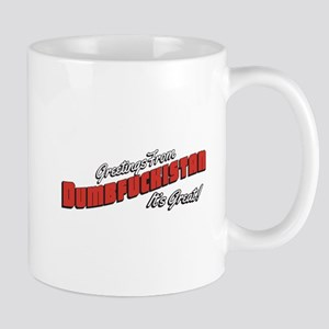 Dumbfuckistan - It's Great! Mug