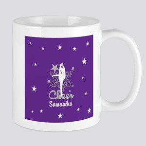Purple Allstar Cheerleader Mugs