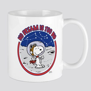Peanuts No Dream Is Too Big Mugs