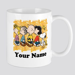 Peanuts Walking Personalized Mug