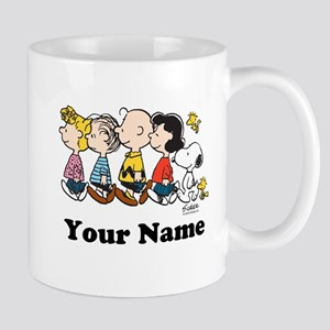 Peanuts Walking No BG Personalized Mug