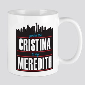 Grey's Cristina to my Meredith Mug