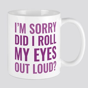 Roll My Eyes Mug