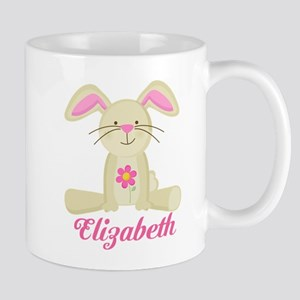 Personalized Easter Bunny Rabbit Mugs