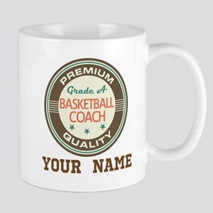 Basketball Coach Personalized Gift Mugs