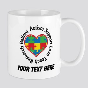 Autism Teacher Personalized Mugs