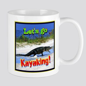Lets Go Kayaking! Mugs
