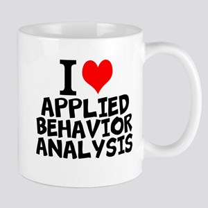 I Love Applied Behavior Analysis Mugs