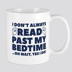 Read Past My Bedtime Mug