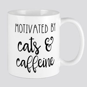 Motivated by Cats and Caffeine Mugs