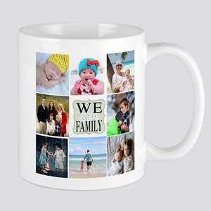 Custom Family Photo Collage Mugs