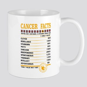 Cancer Facts Zodiac Mugs