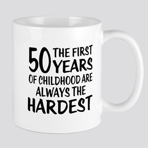 50 Years Of Childhood Are Always 11 oz Ceramic Mug
