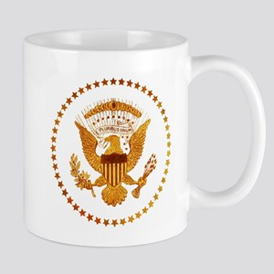 Gold Presidential Seal 11 oz Ceramic Mug