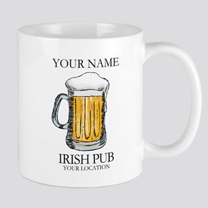 Irish Pub Personalized 11 oz Ceramic Mug