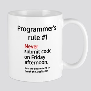 Programmer's rule #1 Travel Mugs