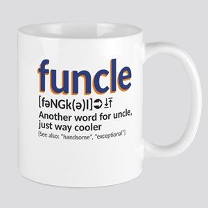 Funcle definition 11 oz Ceramic Mug