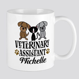 Veterinary Assistant Personalized Mugs