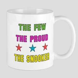 The Few, The Proud, The Snooker 11 oz Ceramic Mug