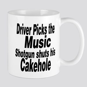 Driver Picks the Music Mugs