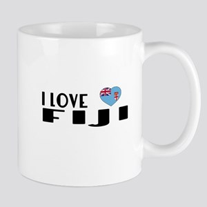 I Love Fiji 11 oz Ceramic Mug