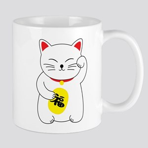 Maneki Neko Lucky Cat Mugs